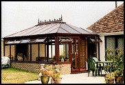 Woodgrain PVCu Conservatories