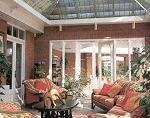 Example of Roman Conservatory Blinds - Sunblinds and Shading