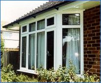 Click here to see PVC-U window in an unequal sight line style.